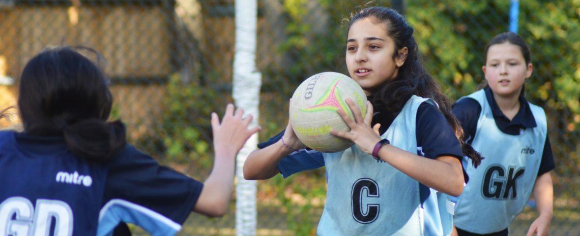Netball at Braeside