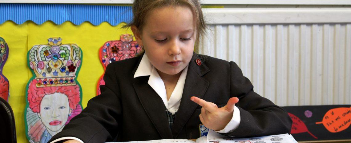 Pupil learning at Braeside