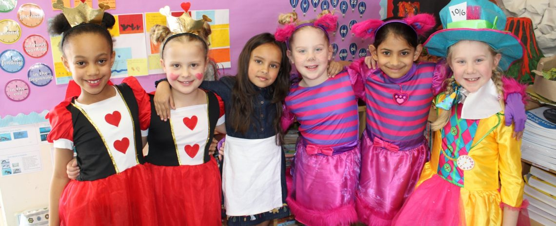 World Book Day Costumes at Braeside