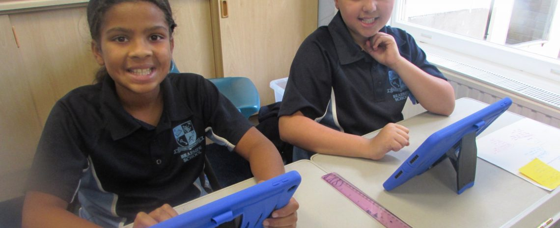 Using the iPads to learn